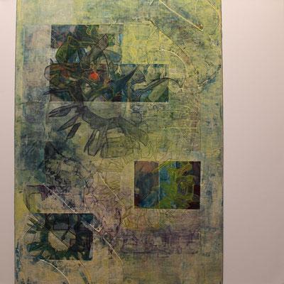 60 x 60 cm | acrylique mixte sur toile | 2020