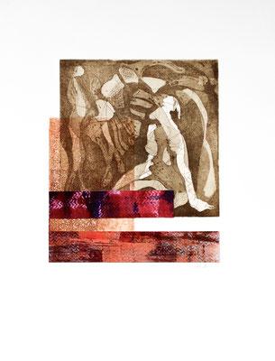 gravure et acrylique, 30 x 40 cm, 2018 | fr 480.-