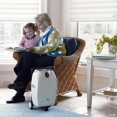 Sauerstoffgeräte mobil und zu Hause