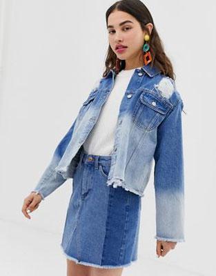 6436b87d1c1 et si on passait à la veste en jean   - Les instantanés de Valérie Benaïm