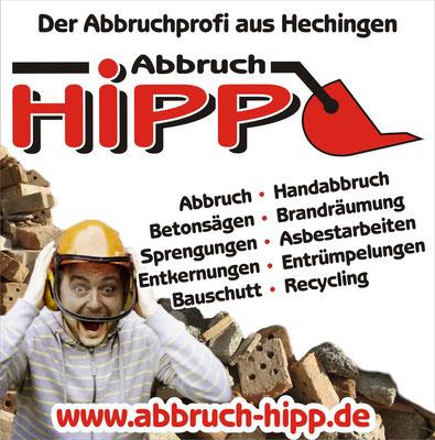 Abbruch Arbeiten macht am besten der Profi - Abbruch Hipp Hechingen