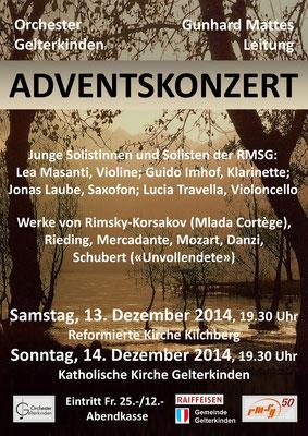 Adventskonzert 2014