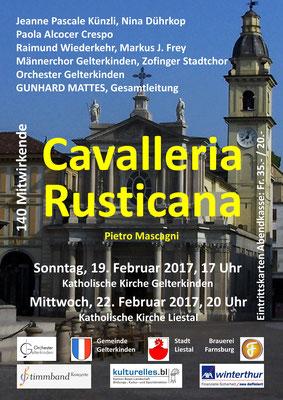 Cavalleria Rusticana, Reprise, Feb. 2017