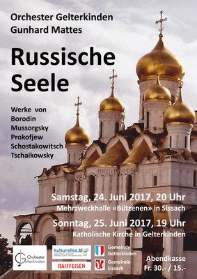 Russische Seele, Juni 2017