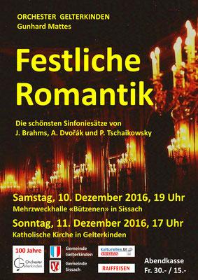 Festliche Romantik, Dez. 2016