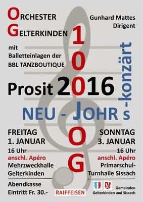 Neujahrskonzert, Jan. 2016