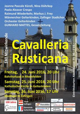 Cavalleria Rusticana, Juni 2016