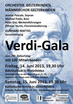 Verdi-Gala, Juni 2013
