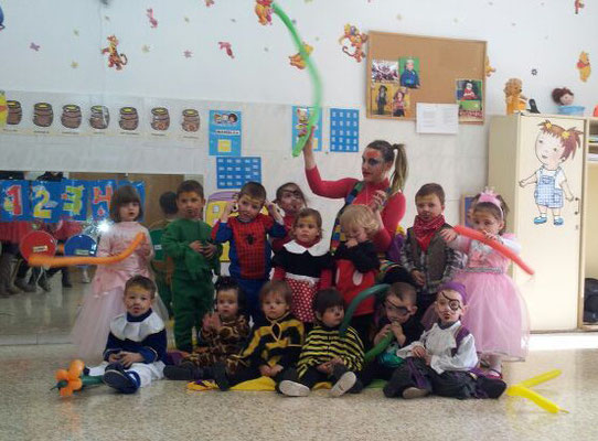 Fiesta de Canaval, Escola Infantil de Benisanó