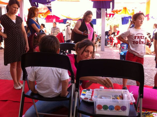 Feria Adopta. Terraza de MUVIM