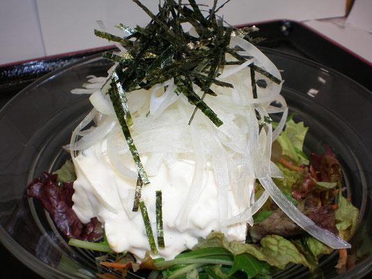 豆腐サラダ 490円