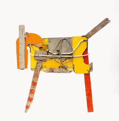 Paard 170x160cm 695,-
