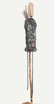 De Vogelman (geïnspireerd op Giacometti) 200x52x50cm 550,-