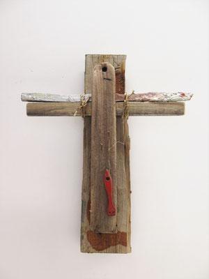 Kruisbeeld 2 50x45x12cm 225,-