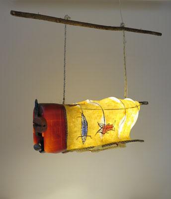 Voertuig van de ziel (hangend) 110x75x80cm 1250,-