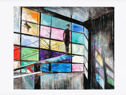 """""""Die Tiefe"""", 2012, 230 x 280 cm"""