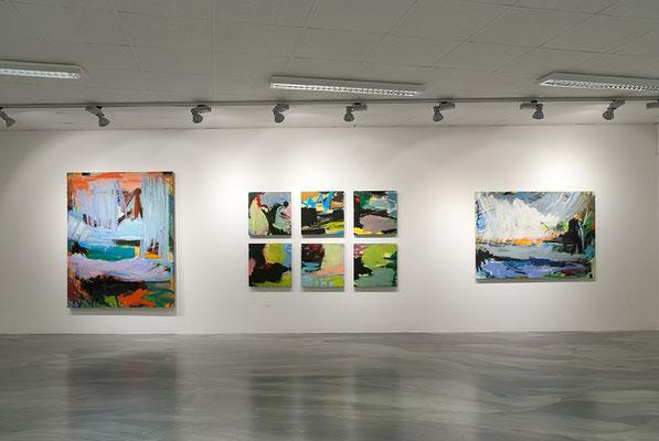 Blick in die Ausstellung von Josef Brune, Merle Lembeck, Reiner Tintel | Fotos: Frank Gillich (Hase29)