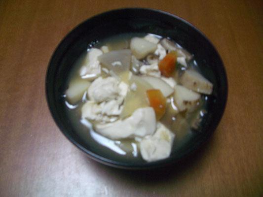 けんちん汁(パネル型)