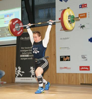 Victoria Steiner mit 9 neuen Tiroler Rekorden