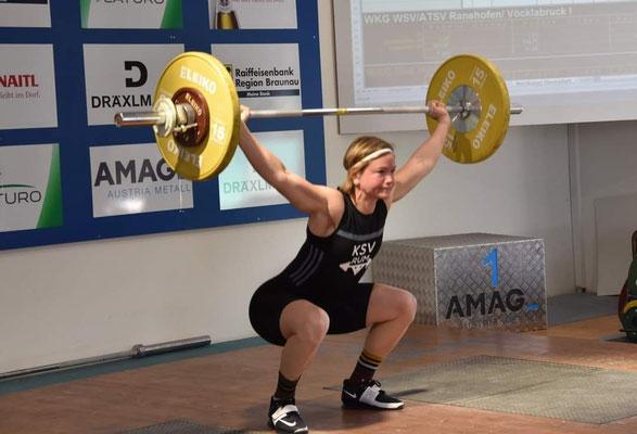 Britta Fürle - 56 kg Reißen