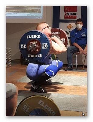 Julian bei 170 kg umsetzen