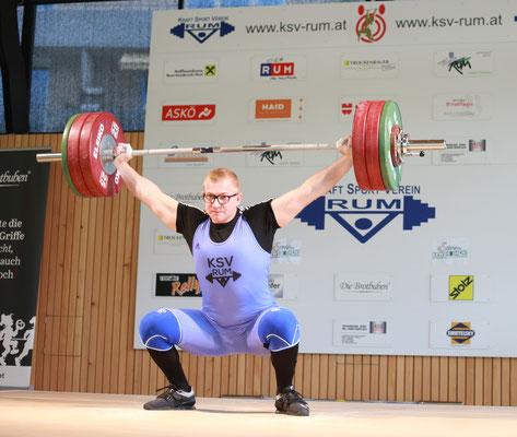 Julian Heidenbauer - 150 kg Reißen