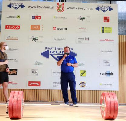 Trainer Werner Uran - zufrieden mit dem Sieg