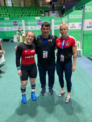 Vici & Vici mit dem 3-fachen Olympiasieger Pyrros Dimas