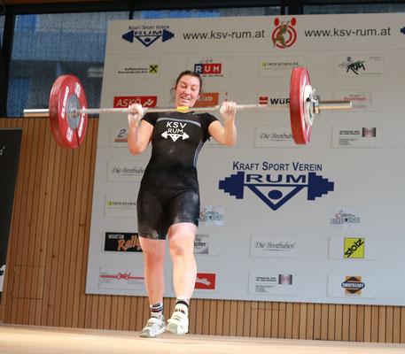 Tamara - gescheitert bei neuer Bestleistung von 80 kg