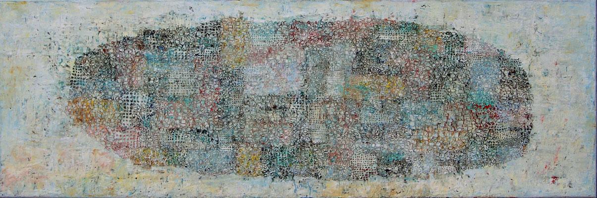 AGER - Öl auf Leinwand - 40x120 cm - 2015