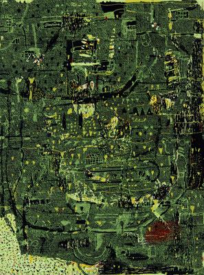 Nachtgrün - Silkscreen - 37 x 27 cm - 2001 - 150 copies