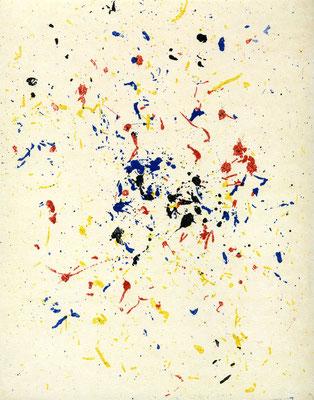 Stelis - Radierung - 25x20 cm - Auflage: 25 Exemplare - 2015