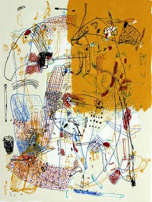 Sommerspiel - Silkscreen - 37 x 27 cm - 2001 - 150 copies