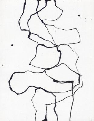 Venerdi - Motiv 2 - Radierung - 25x20 cm - Auflage: 35 Exemplare - 2012