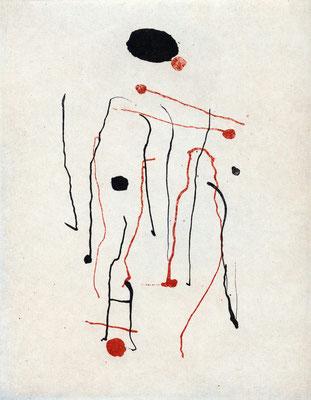 Phaetons Traum - Motiv  - Radierung - 25x20 cm - Auflage: 35 Exemplare - 2014
