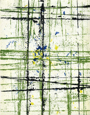 Situazioni - Motiv 6 - Radierung - 25x20 cm - Auflage: 35 Exemplare - 2015