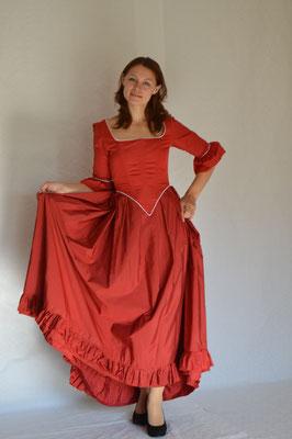 126. Viktorianisches Kleid