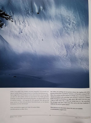 BERGE IM LICHT Fotostory im BACKLINE - BACKCOUNTRY FREESKIING PHOTO & STORY MAGAZINE 4