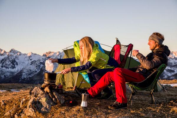 Berge im Licht - Bivaknacht zum Saisonschluss - 14