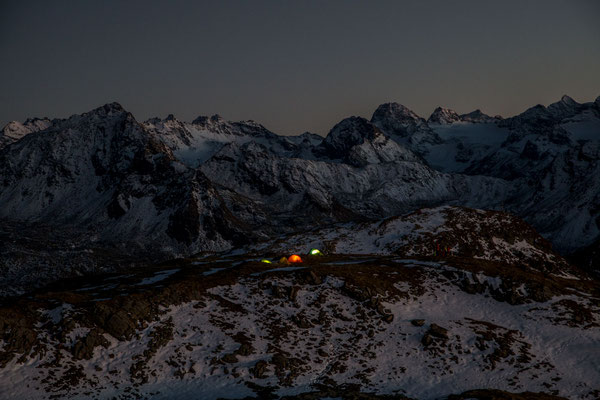 Berge im Licht - Bivaknacht zum Saisonschluss - 13