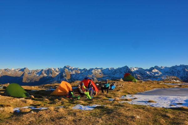 Berge im Licht - Bivaknacht zum Saisonschluss - 3