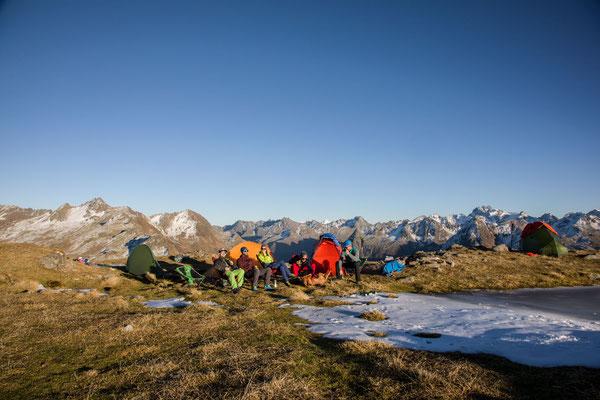 Berge im Licht - Bivaknacht zum Saisonschluss - 4
