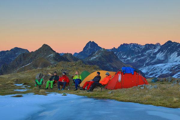 Berge im Licht - Bivaknacht zum Saisonschluss - 8