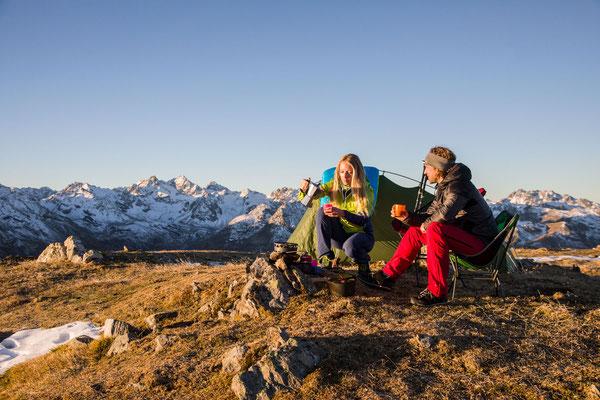 Berge im Licht - Bivaknacht zum Saisonschluss - 15