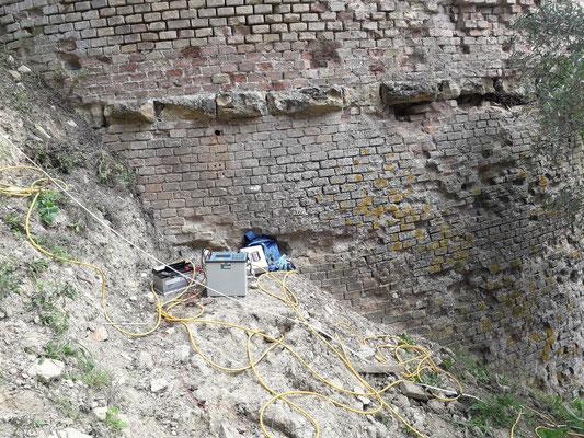 Stendimento Geoelettrica ERT (Electrical Resistivity Tomography)