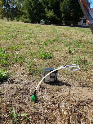 campionamento soil gas (soil gas sampling)