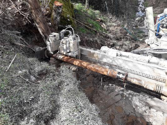Perforazione Pozzo Sub-Orizzontale Monte Labro
