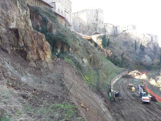 Rilevamento Topografico con STAZIONE TOTALE LEICA (Pitigliano)