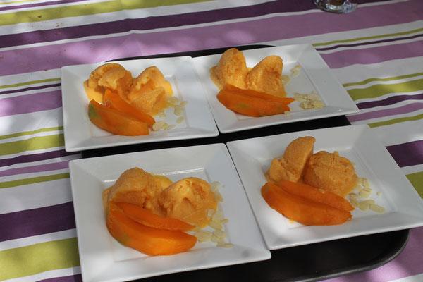 Un délicieux dessert que Sophie aime préparer!