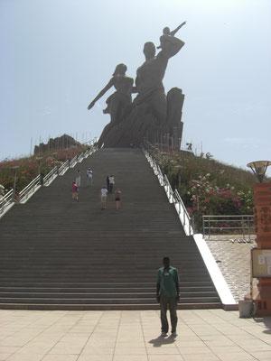La plus haute statue du monde à Dakar